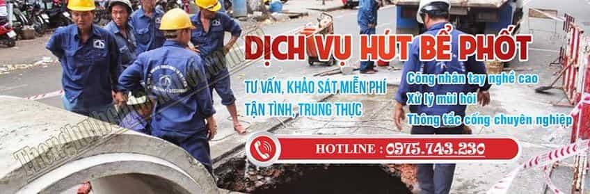Dịch vụ hút bể phốt tại Hà Nội uy tín