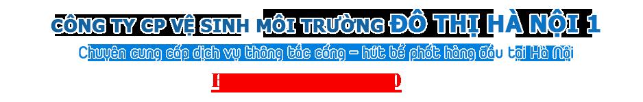Công ty cổ phần vệ sinh môi trương đô thị Hà Nội 1