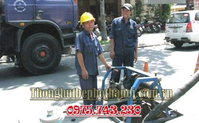 dịch vụ thông hút bể phốt Hà Nội