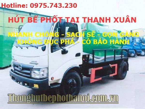 Dịch vụ hút bể phốt tại Thanh Xuân uy tín, giá rẻ