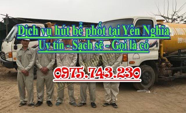 Dịch vụ hút bể phốt tại Yên Nghĩa