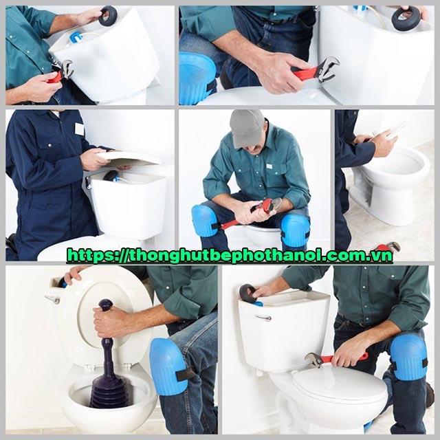 Nguyên nhân tắc bồn cầu toilet và tổng hợp các cách khắc phục
