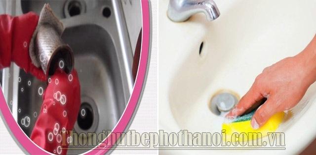 Hướng dẫn vệ sinh chậu rửa bát và vòi rửa bát1