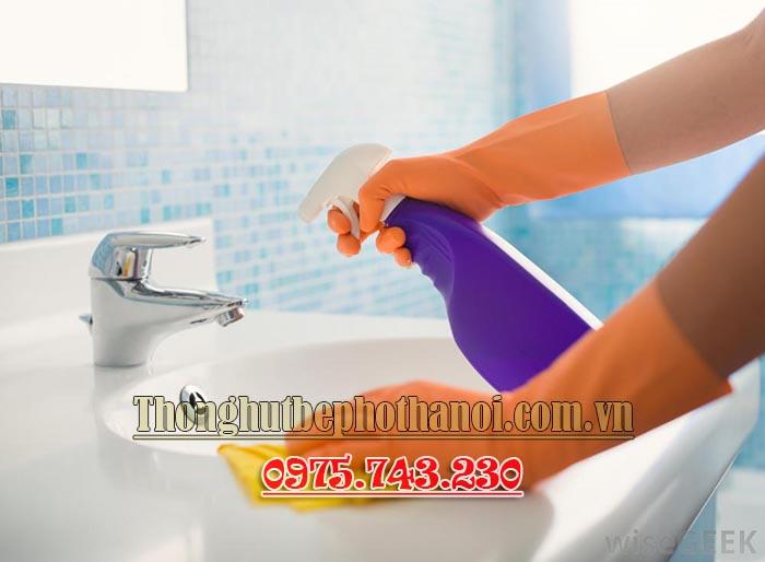 Mẹo vệ sinh nhà tắm sạch sẽ