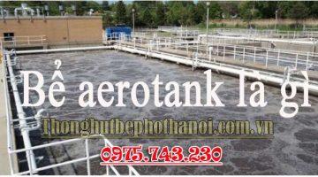 Bể aerotank là bể phản ứng sinh học hiếu khí, chúng ta sẽ thổi khí vào bể và khuấy đảo những vi sinh vật lên nhằm tạo hợp chất bùn hoạt tính lơ lửng. Và bể aerotank đưa vào nghiên cứu và cho ra đời vào năm 1887.