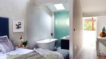 Có nên làm nhà vệ sinh trong phòng ngủ không? Có thể bạn nên biết