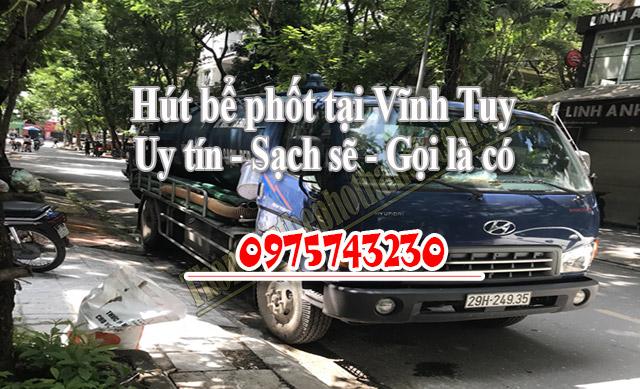 Vì sao bạn nên chọn dịch vụ thông hút bể phốt tại Vĩnh Tuy của chúng tôi