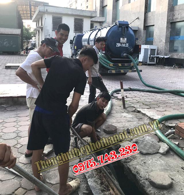 Hút bể phốt tại Vĩnh Tuy uy tín giá rẻ [làm thật ăn thật]