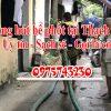 Thông hút bể phốt tại Thạch Bàn uy tín giá rẻ 0975743230