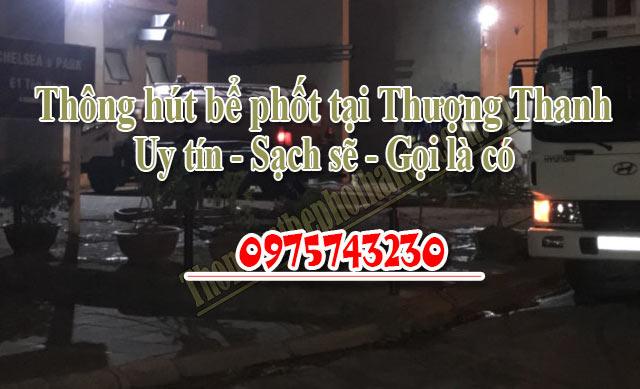 Thông hút bể phốt tại Thượng Thanh uy tín giá rẻ 0975743230