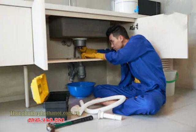 Cách thông tắc cống thứ tám: Sử dụng dịch vụ vệ sinh, thông tắc cống chuyên nghiệp tại Hà Nội